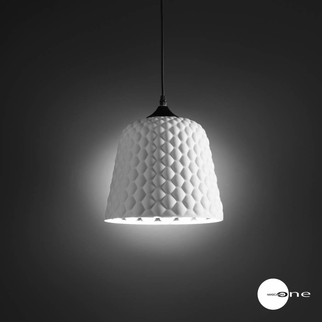 Mascagni One O1403 glazen plafondlamp wit