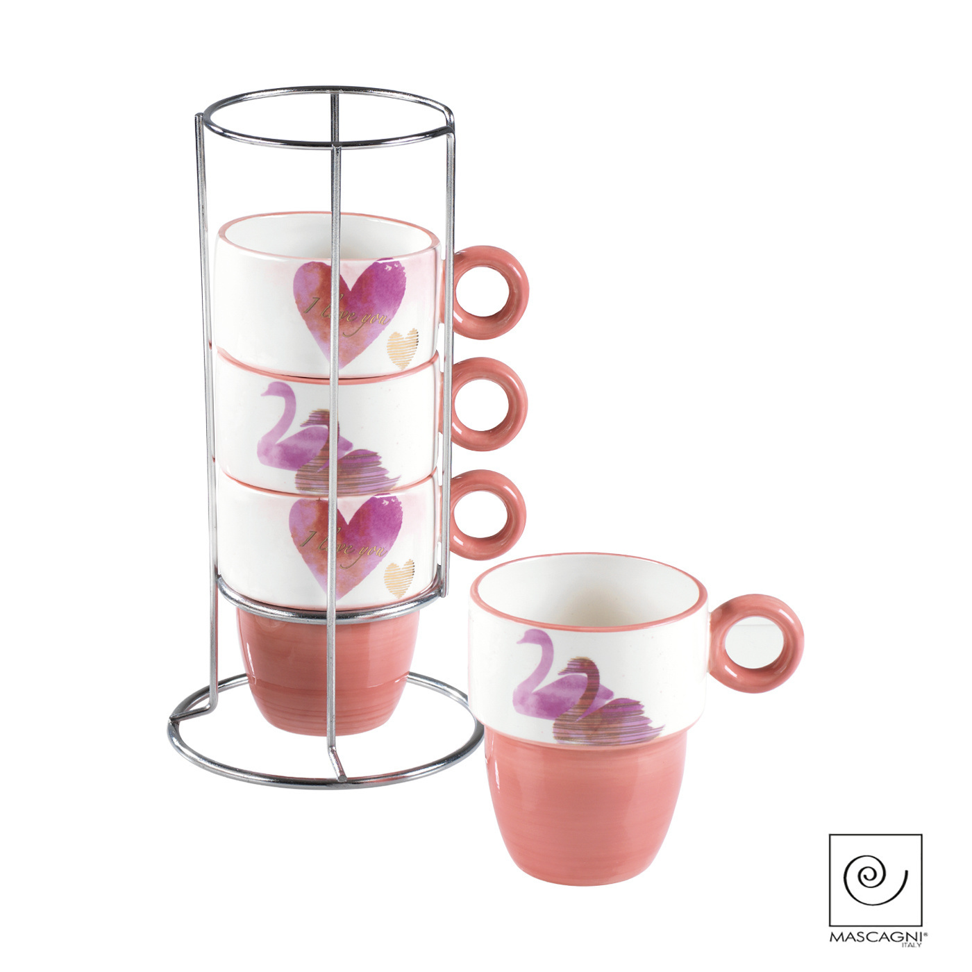 Art Mascagni A1020 SET 4 MUGS