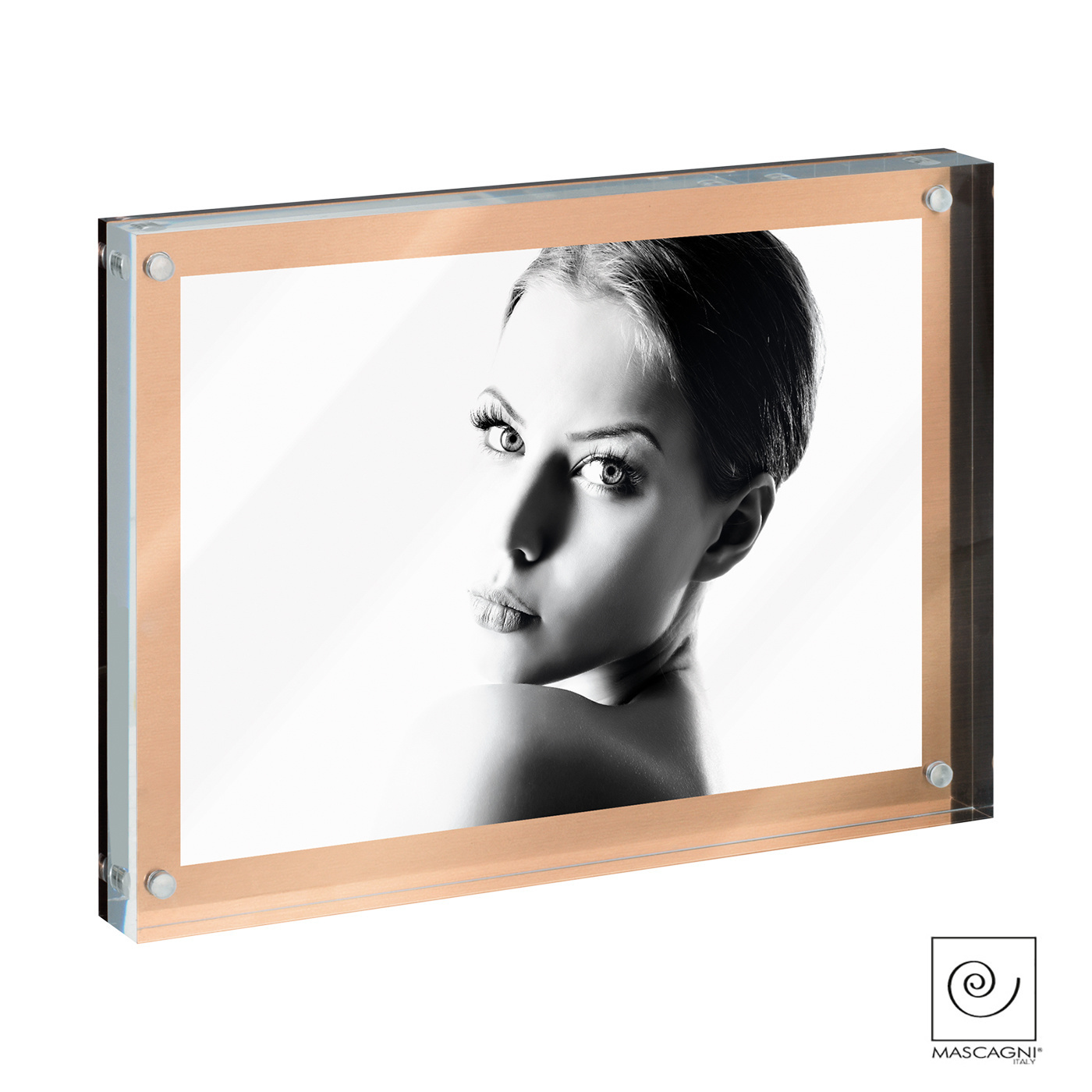 Art Mascagni A1037 PHOTO FRAME 10X15 - COL.COPPER