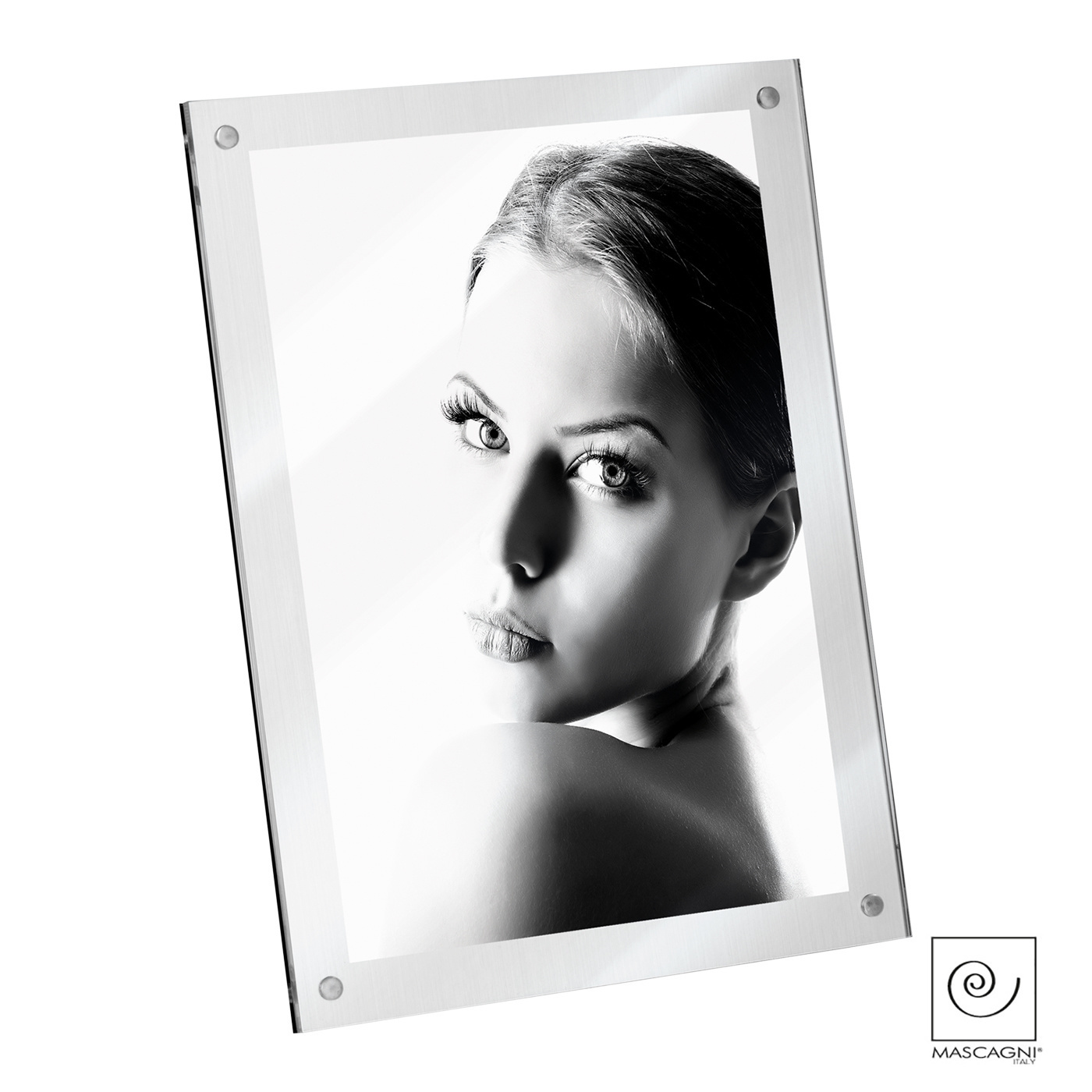 Art Mascagni A1038 PHOTO FRAME 13X18 - COL. SILVER