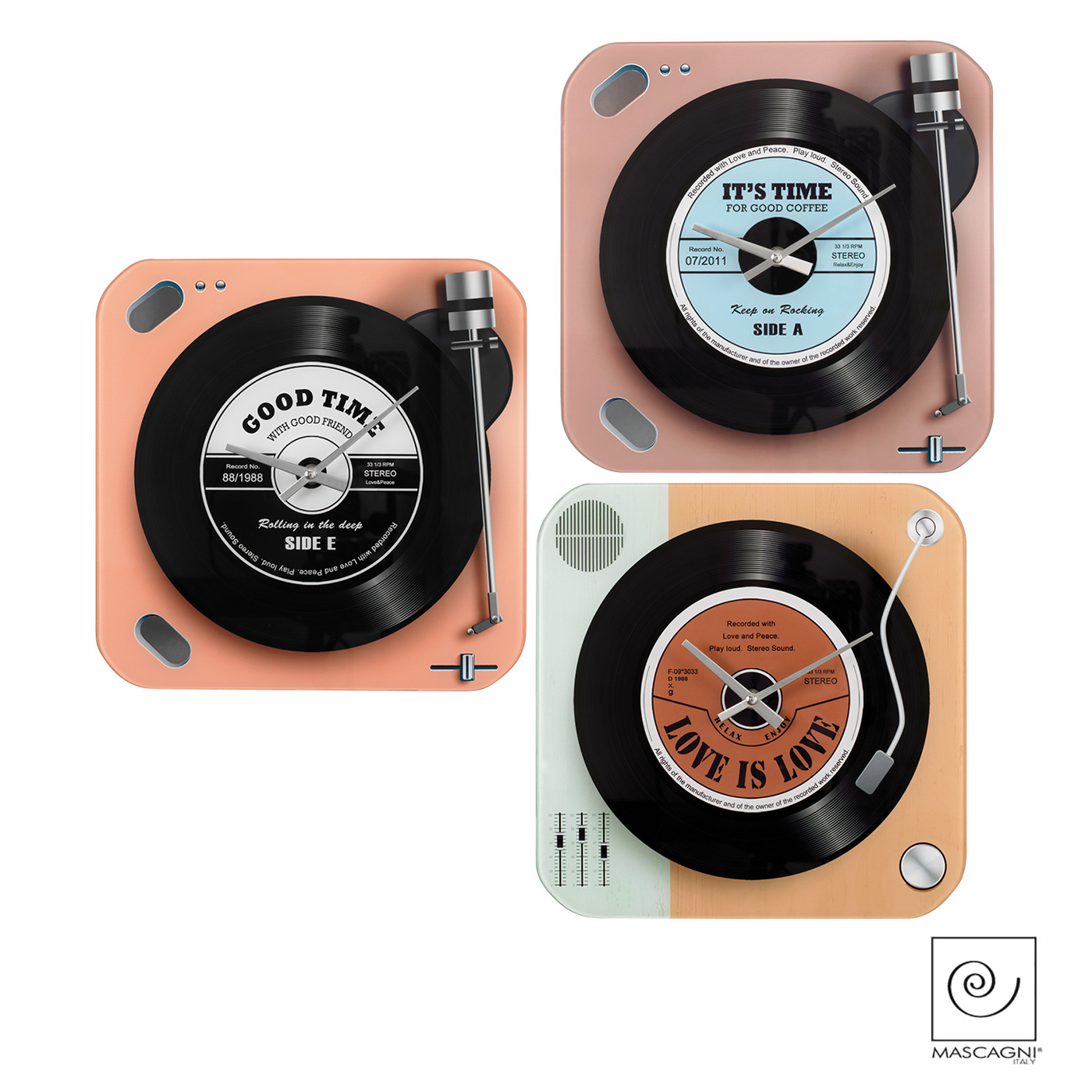 Art Mascagni A1045 WALL CLOCK CM 30X30