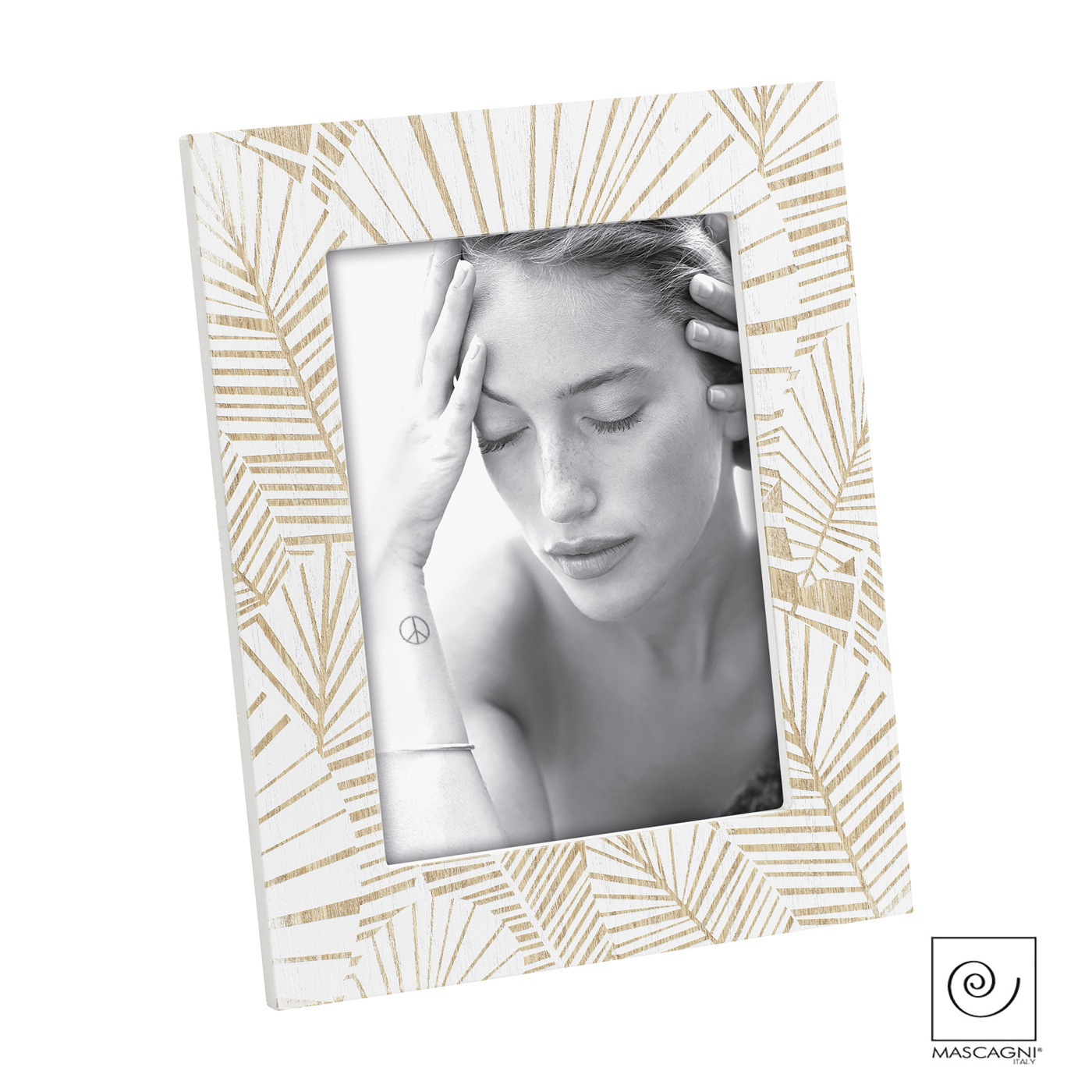 Art Mascagni A1085 PHOTO FRAME 13X18 - COL.WHITE