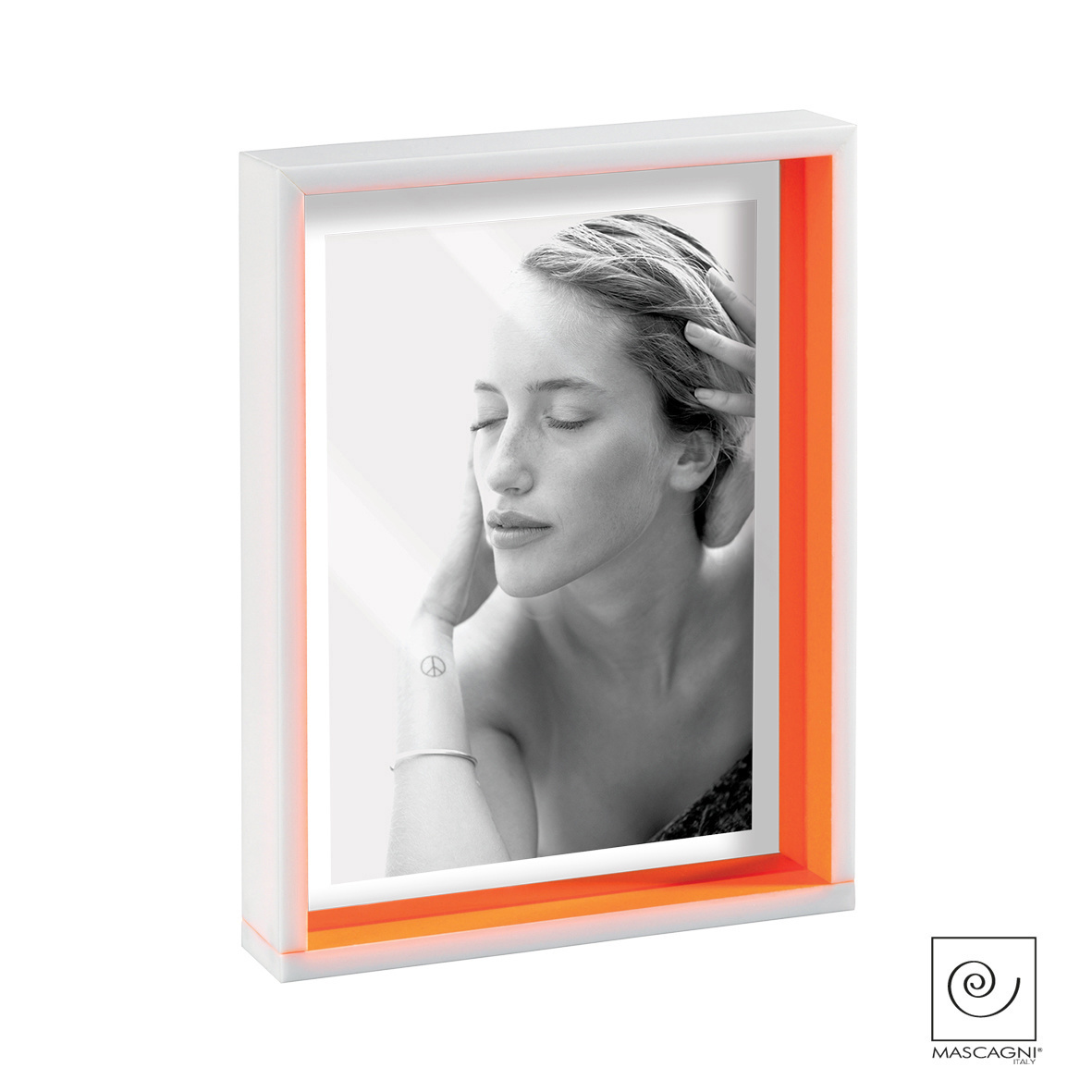 Art Mascagni A662 PHOTO FRAME 13X18 - COL. ORANGE