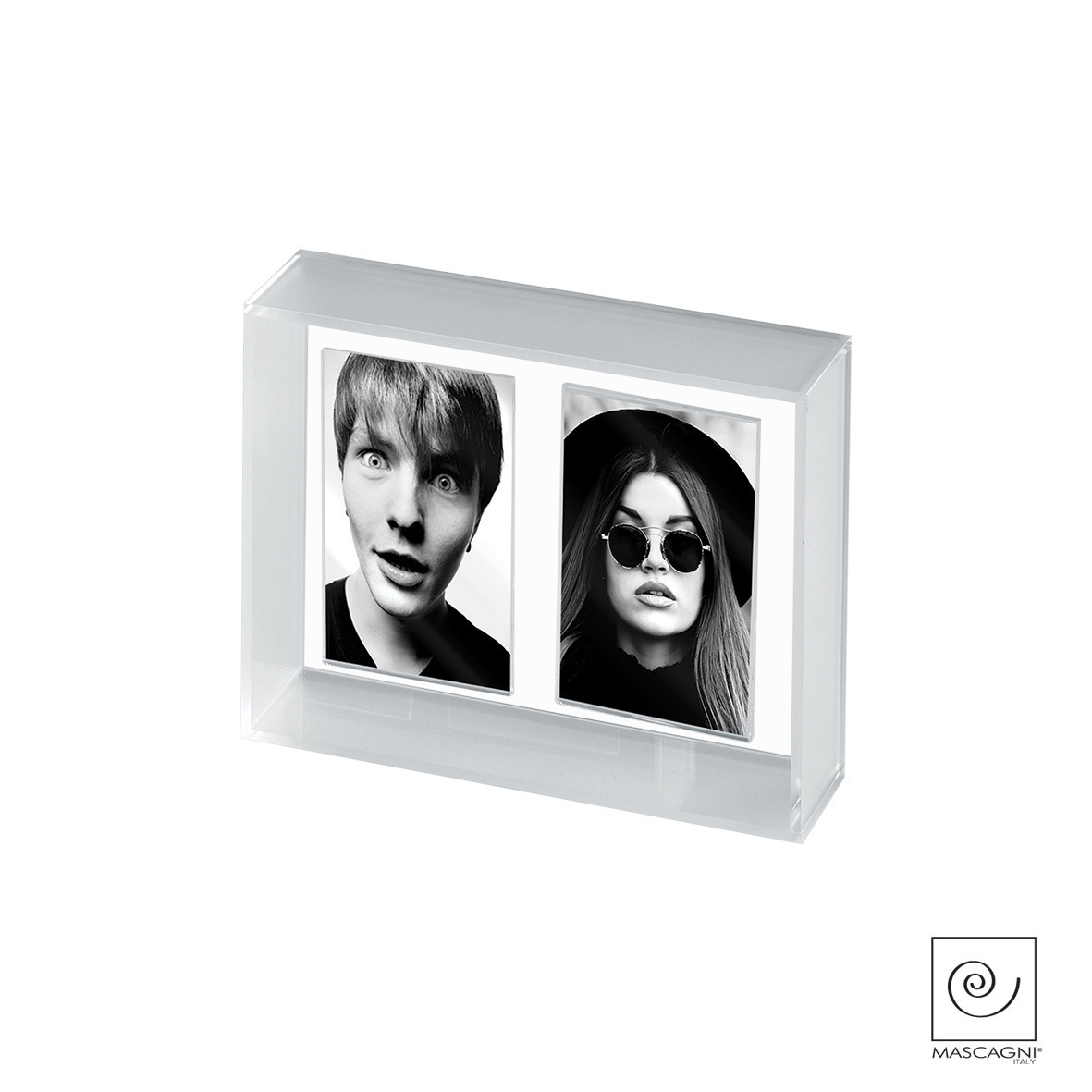 Art Mascagni A665 MULTIPLE FRAME - COL. SILVER