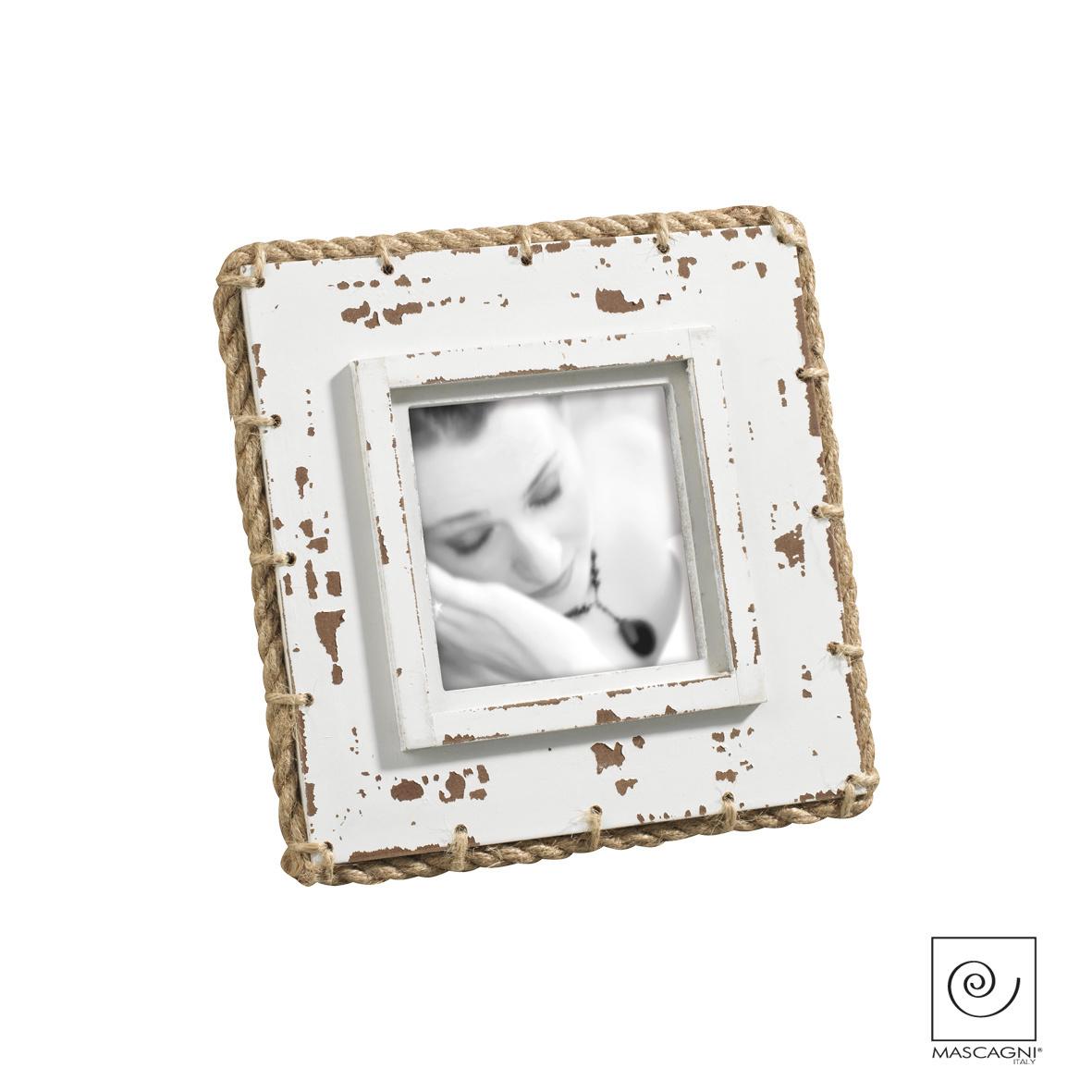 Art Mascagni A762 PHOTO FRAME 10X10 - COL. WHITE