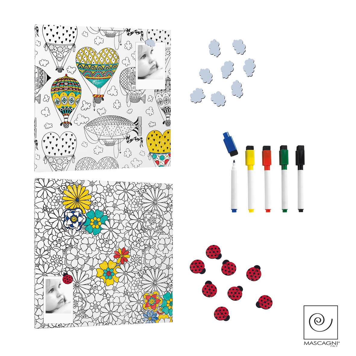 Art Mascagni A776 COLORABLE PANEL 45X45