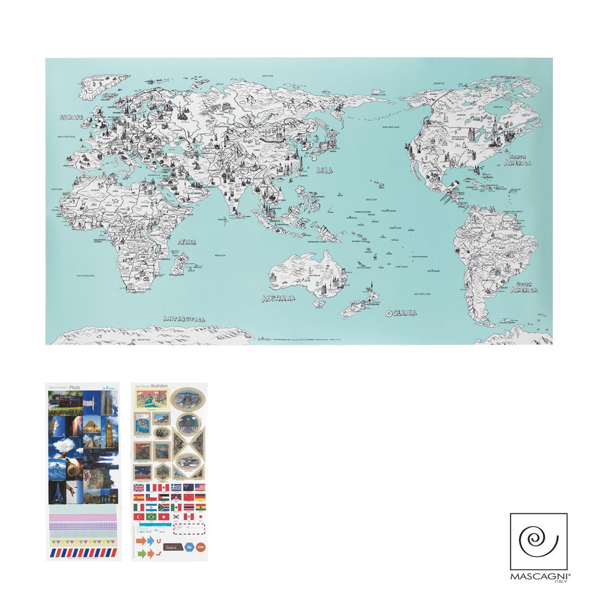 Art Mascagni A792 COLOR MAP - COL. GREEN