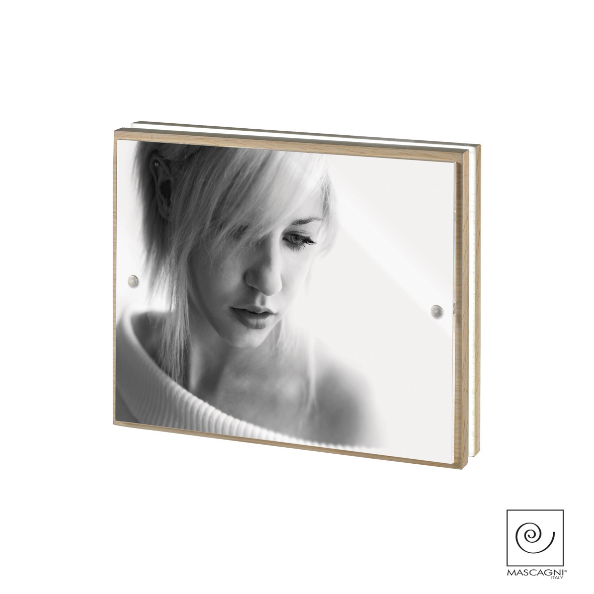 Art Mascagni A796 PHOTO FRAME LED 15X20 - COL.OAK