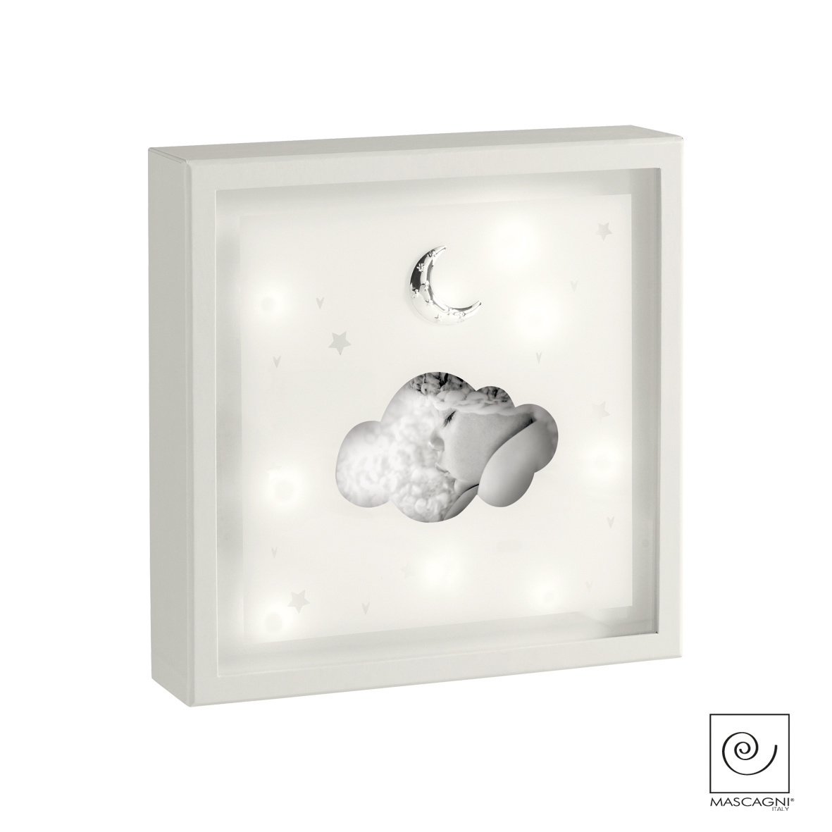 Art Mascagni A814 PHOTO FRAME LED 23X23 - COL.IVORY