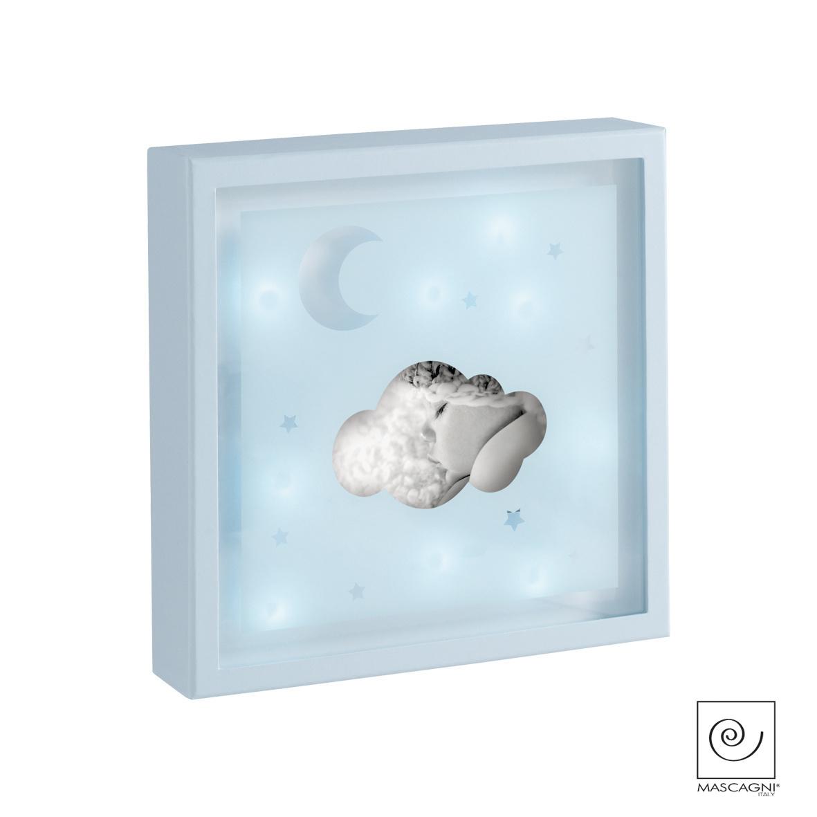 Art Mascagni A815 PHOTO FRAME LED 23X23 - COL. BLUE