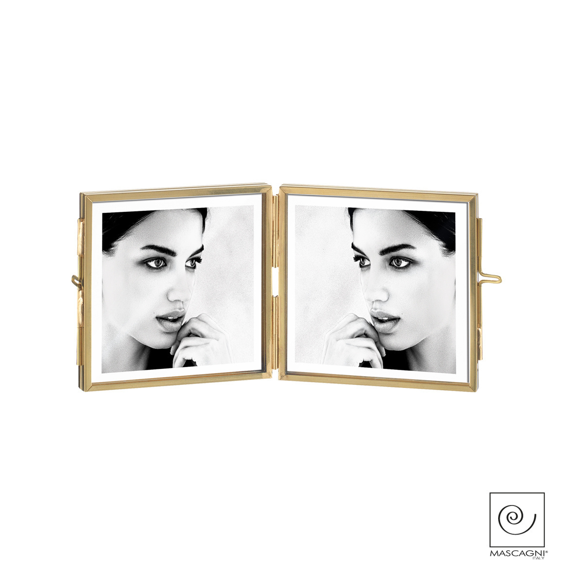 Art Mascagni A858 MULTIPLE FRAME 13X18 IN BRASS