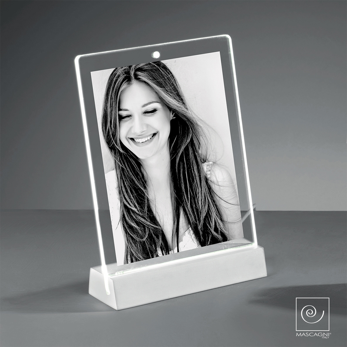 Art Mascagni EDGE PHOTO FRAME LED 13X18 - COL.WHITE