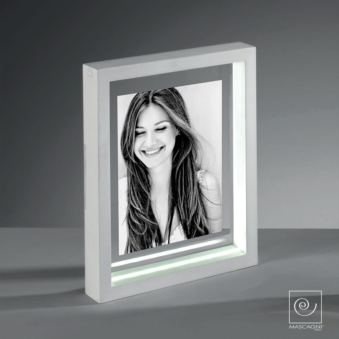 Art Mascagni LOOM PHOTO FRAME LED 13X18 - COL.WHITE