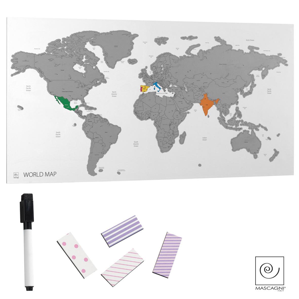 Art Mascagni MAP2 PLANISPHERE 70X37
