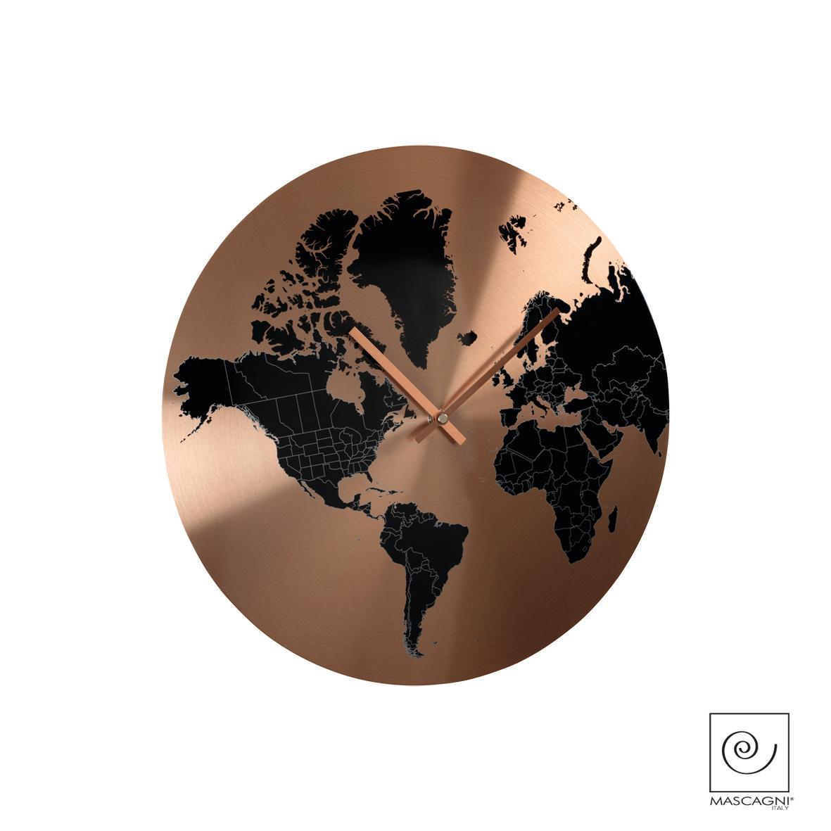 Art Mascagni M559 CLOCK DIAM.40 - COL.COPPER