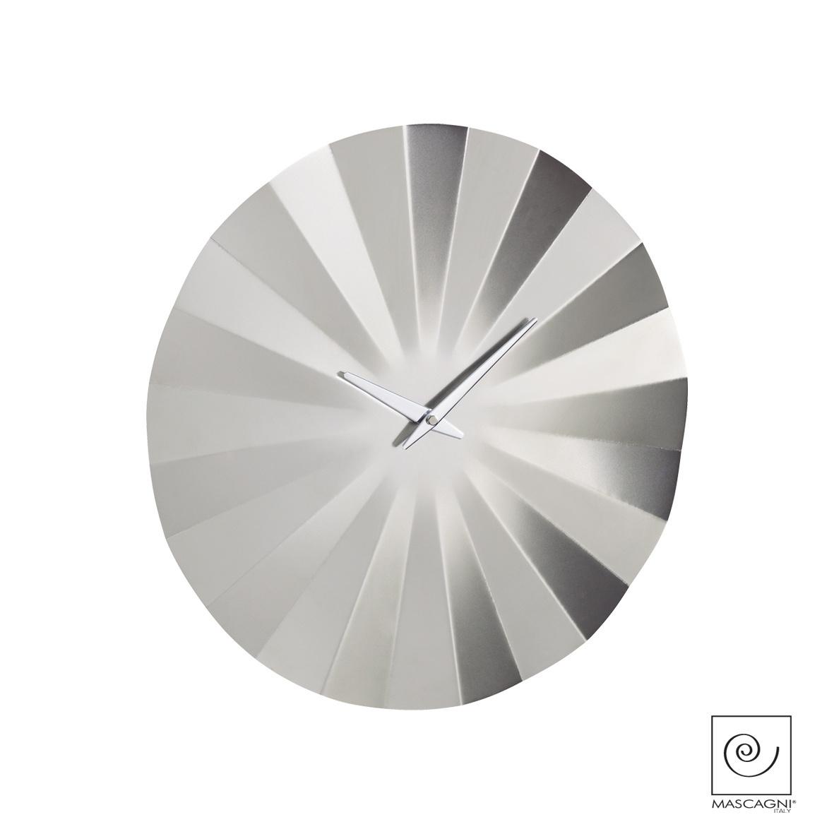 Art Mascagni M574 CLOCK DIAM.40 - COL.SILVER