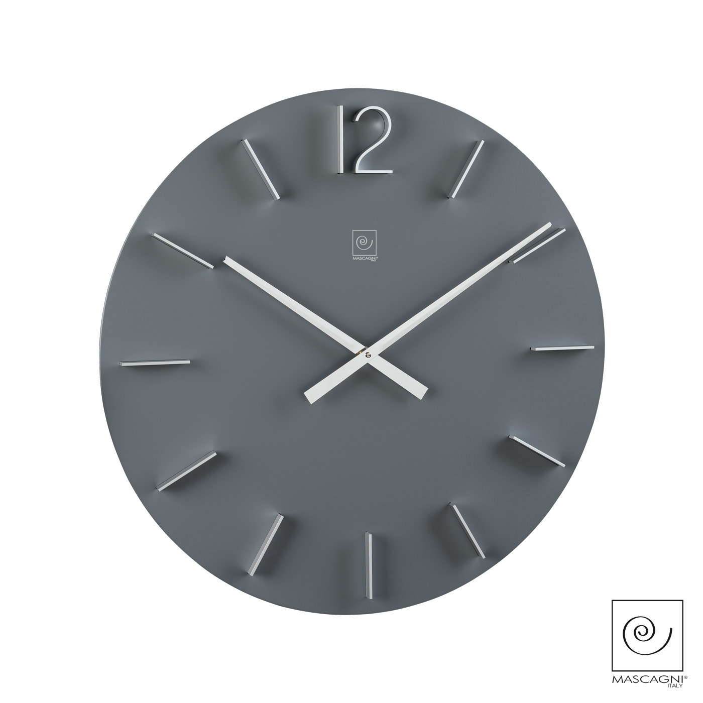 Art Mascagni M578 CLOCK DIAM.50 - COL.GREY