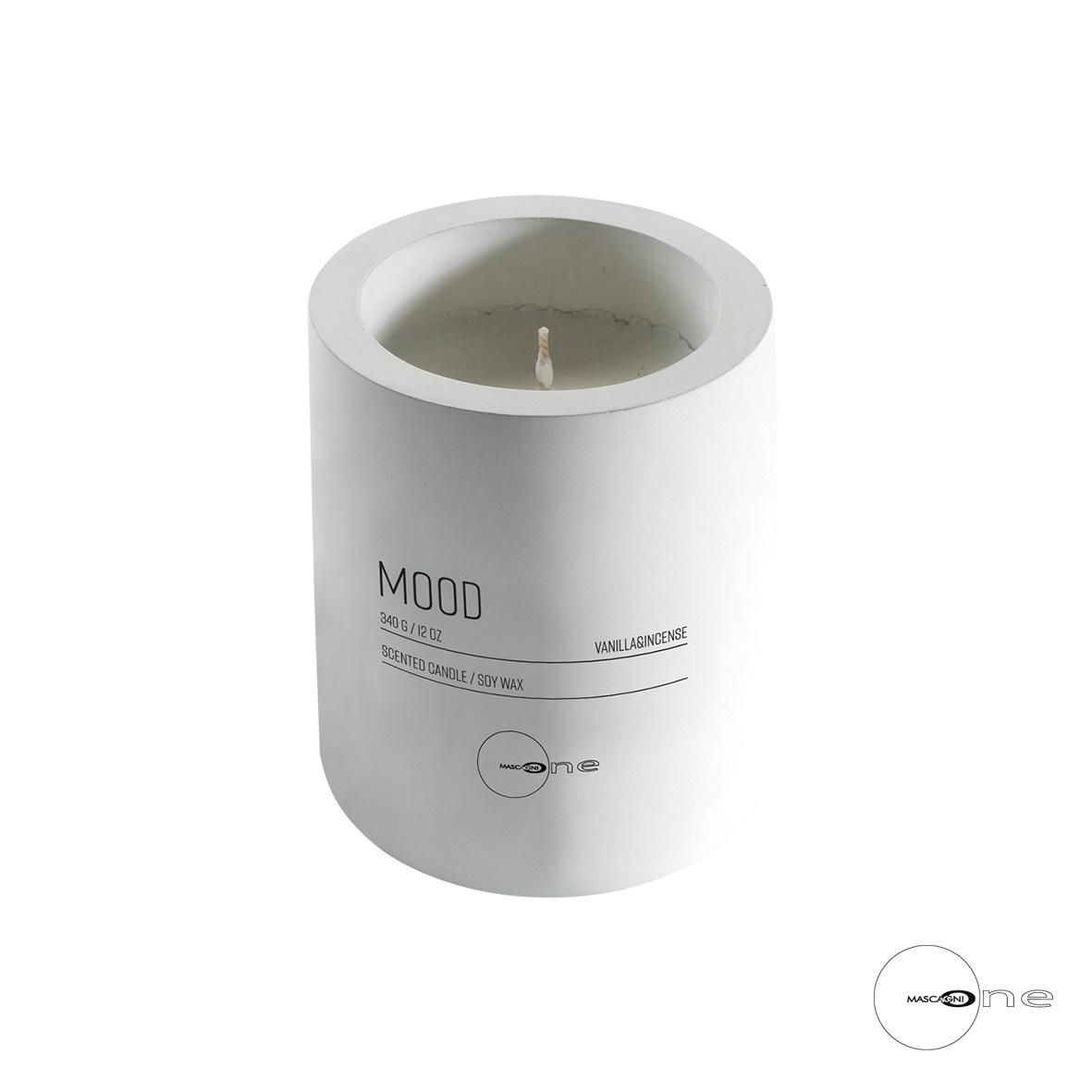 Art Mascagni O1320 CANDLE GR.330 - COL. WHITE