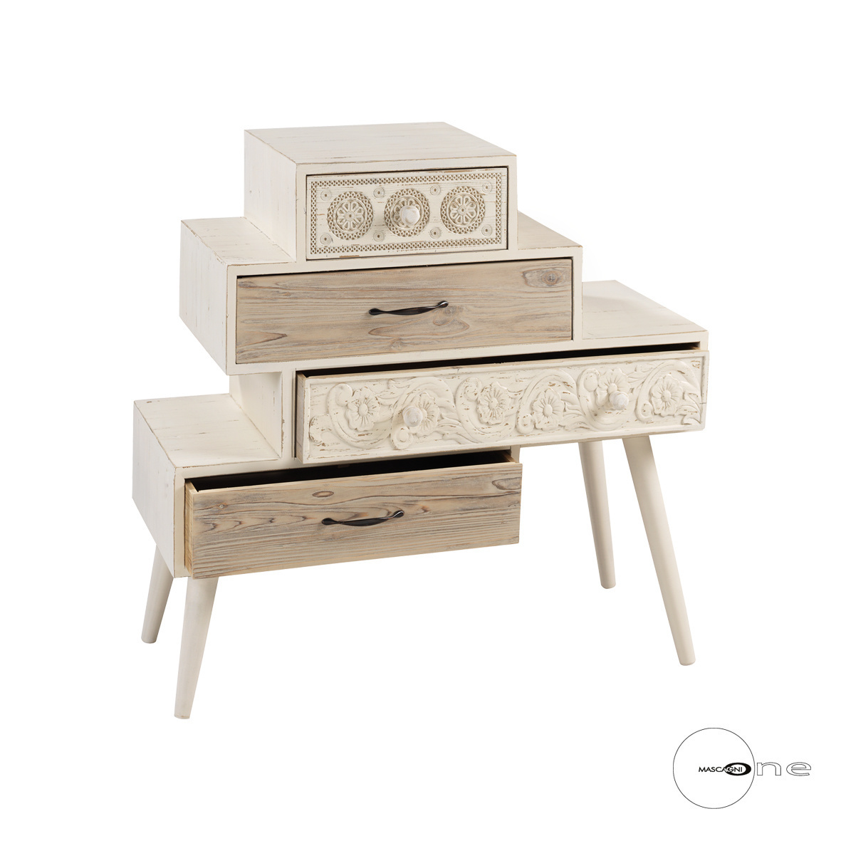 Art Mascagni O1409 CABINET 4 DRAWERS