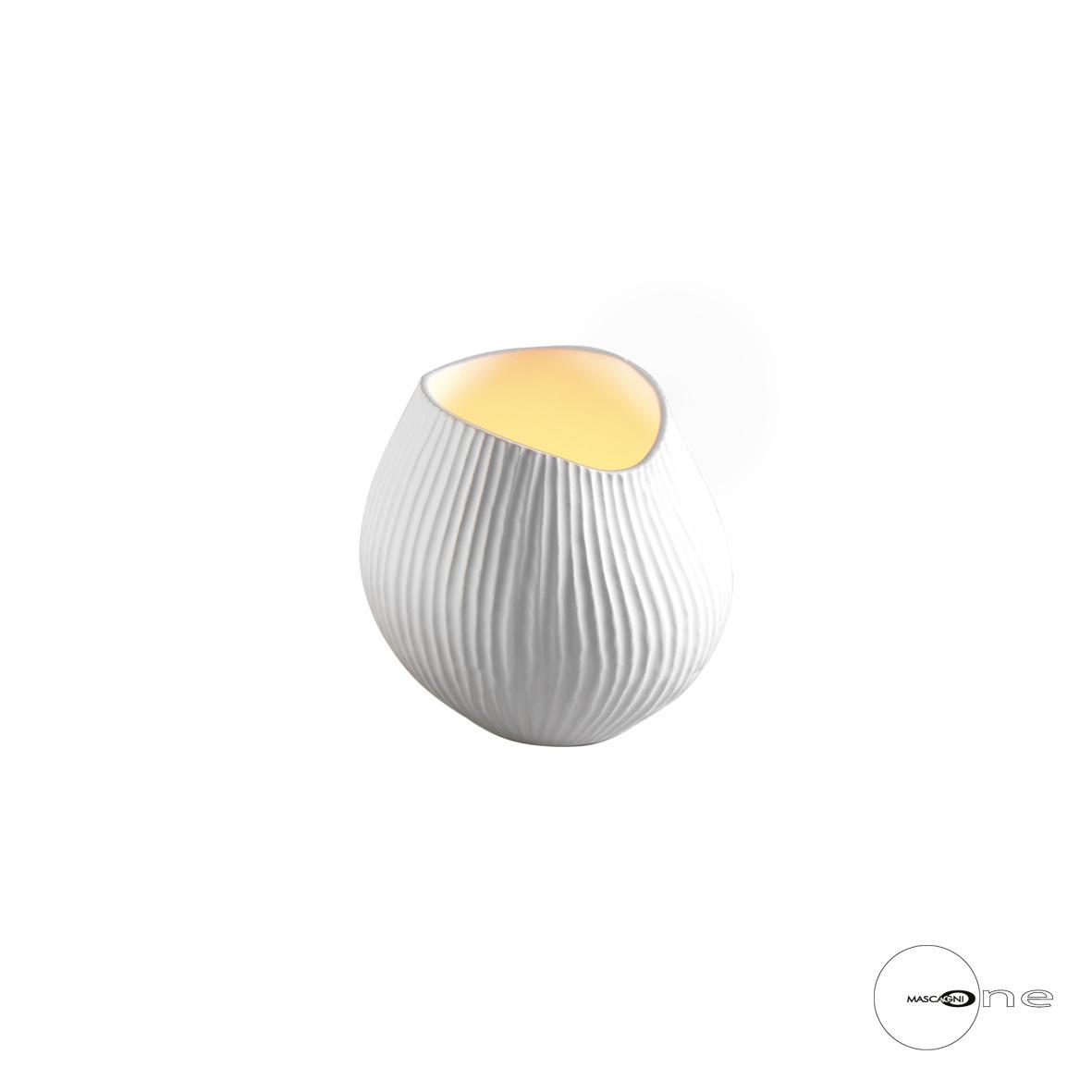 Art Mascagni O1416 CANDLE HOLDER - COL.WHITE