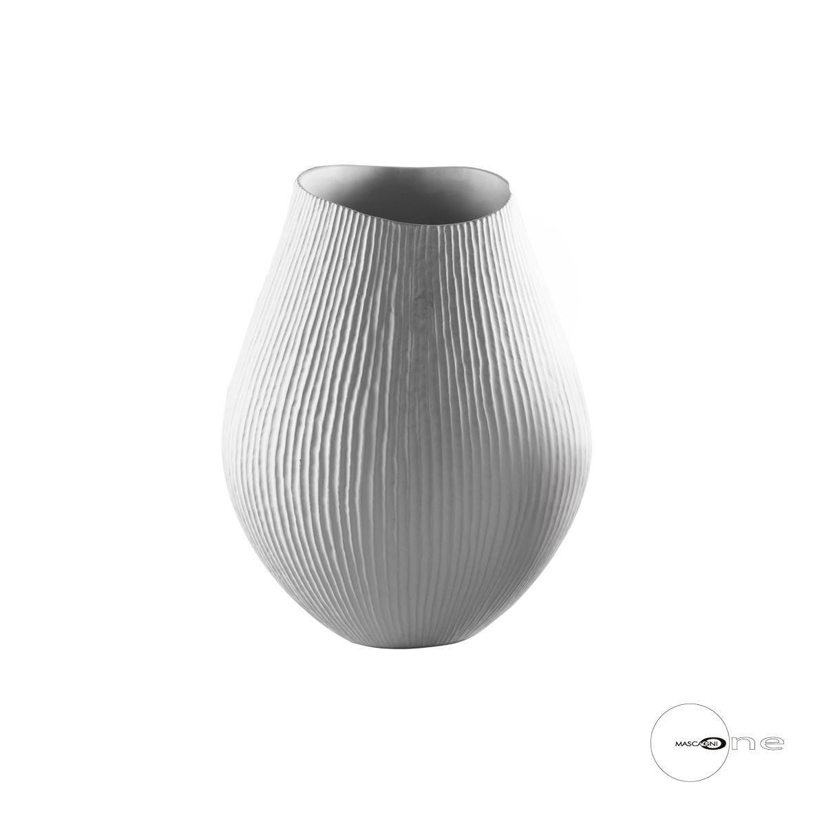 Art Mascagni O1418 VASE CM.38 - COL.WHITE