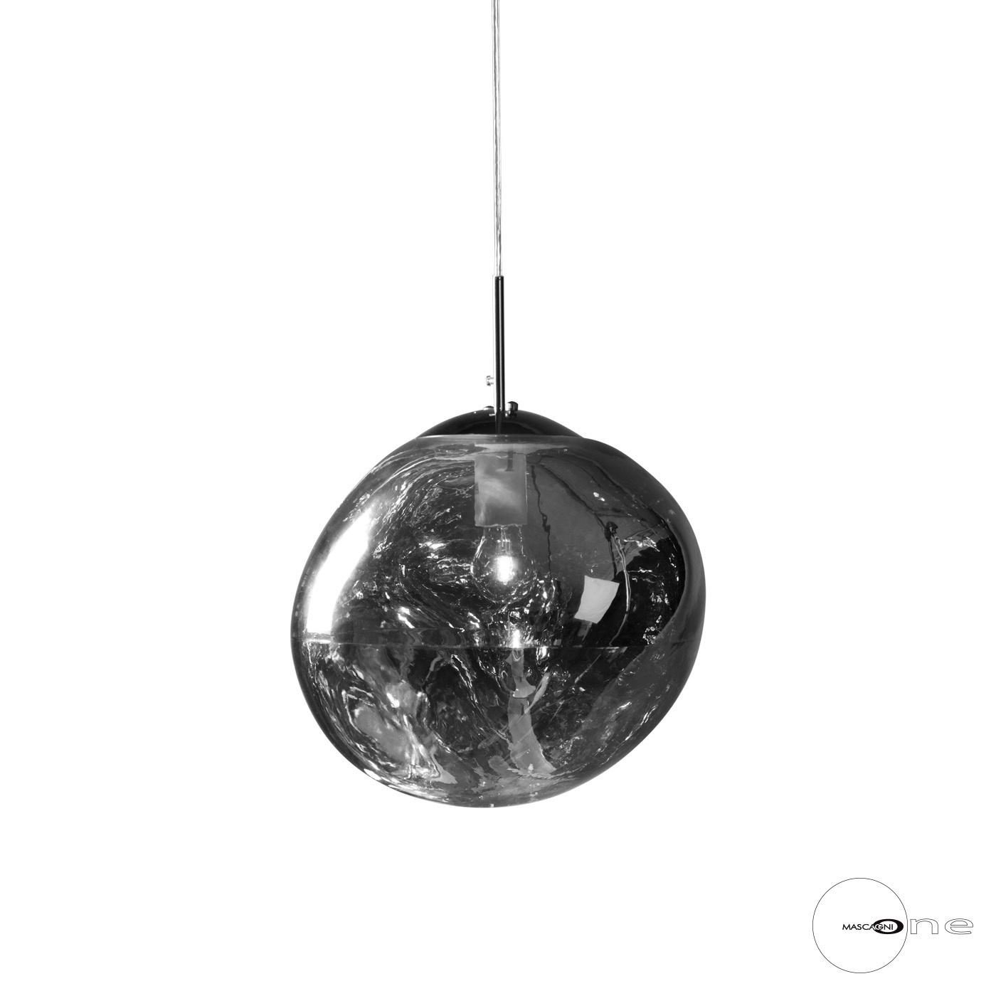 Art Mascagni O1490 CEILING LAMP DIAM.28 - COL.CHROME