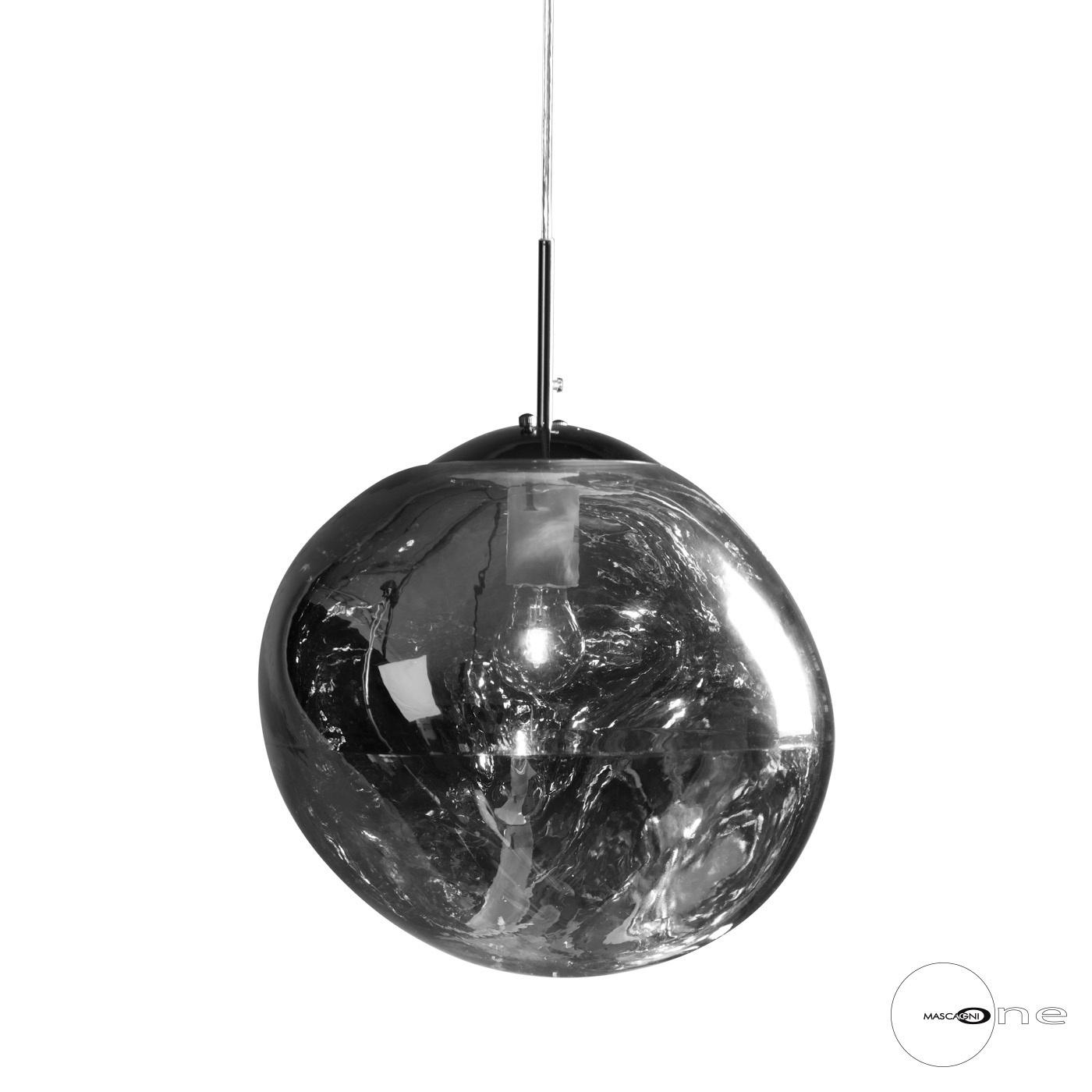 Art Mascagni O1491 CEILING LAMP DIAM.36 - COL.CHROME
