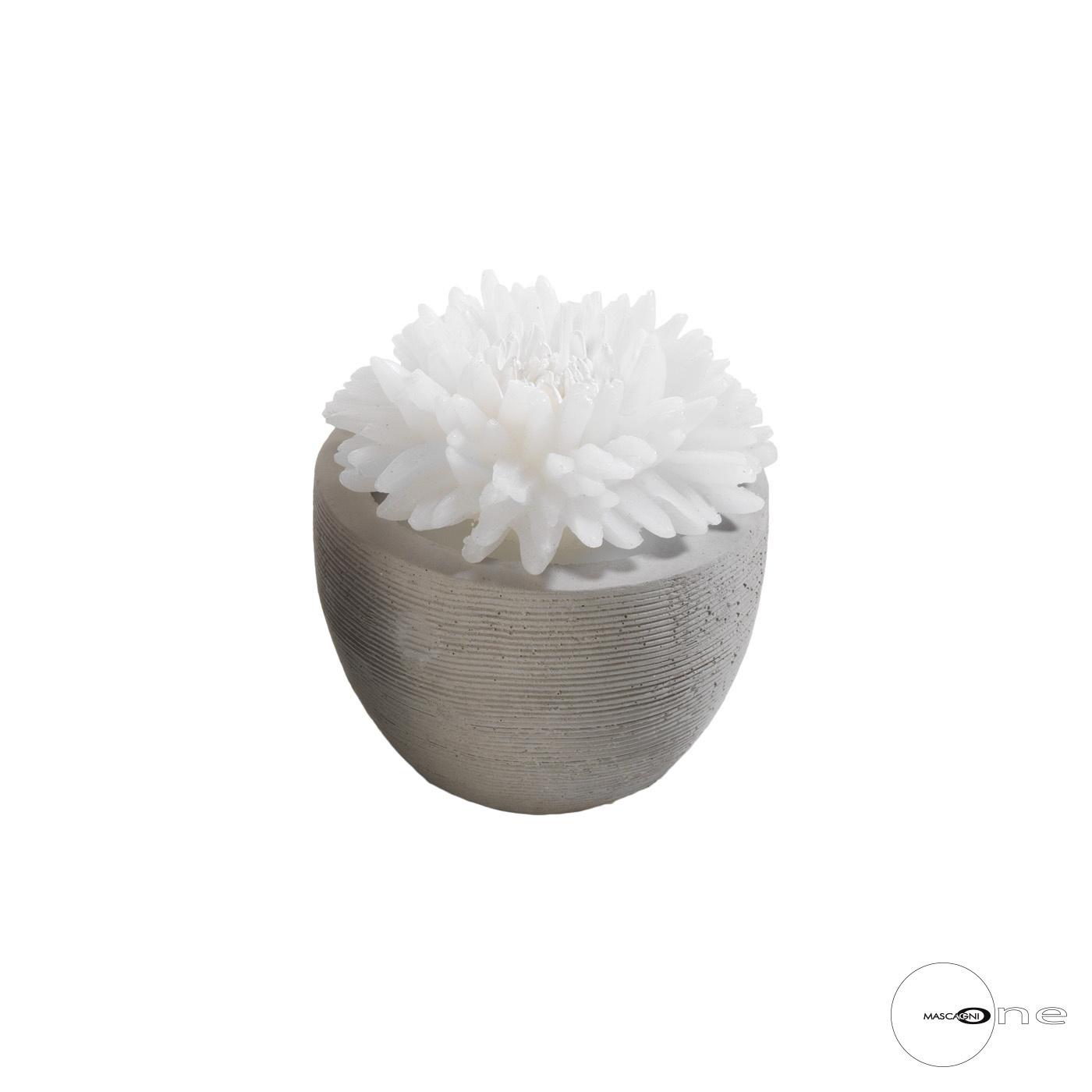 Art Mascagni O1494 CANDLE DIAM.9,5 - COL.WHITE