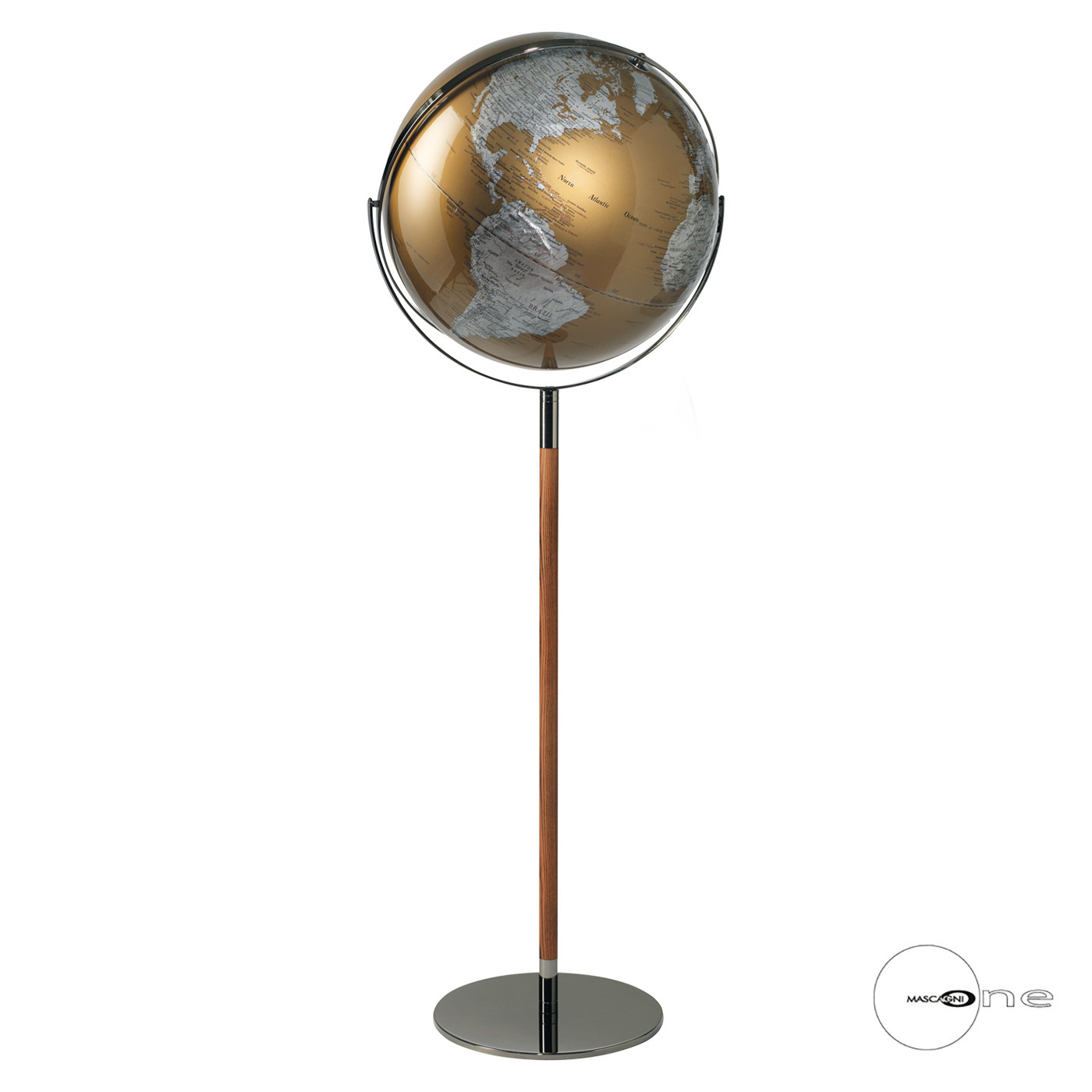 Art Mascagni O1551 GLOBE DIAM.43 - COL.GOLD