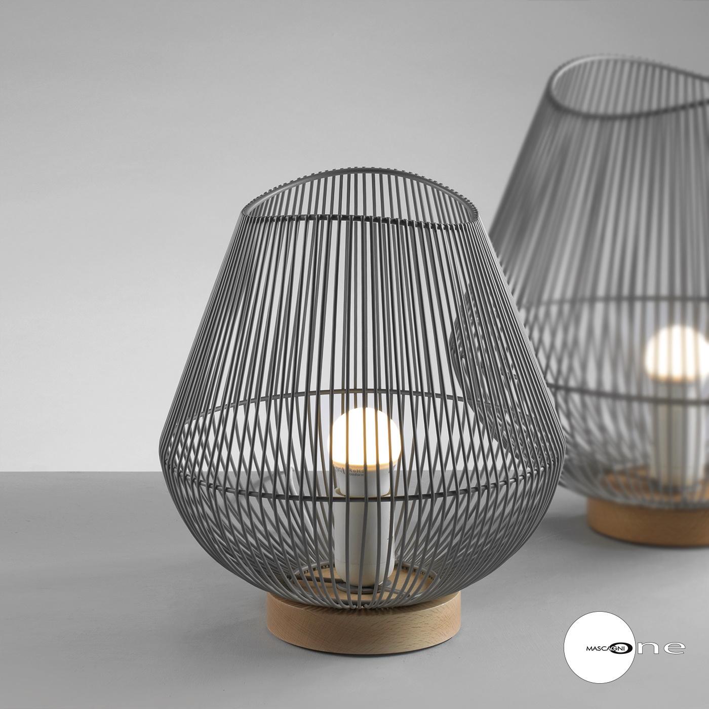 Art Mascagni O1552 LAMP DIAM.26 - COL.GREY