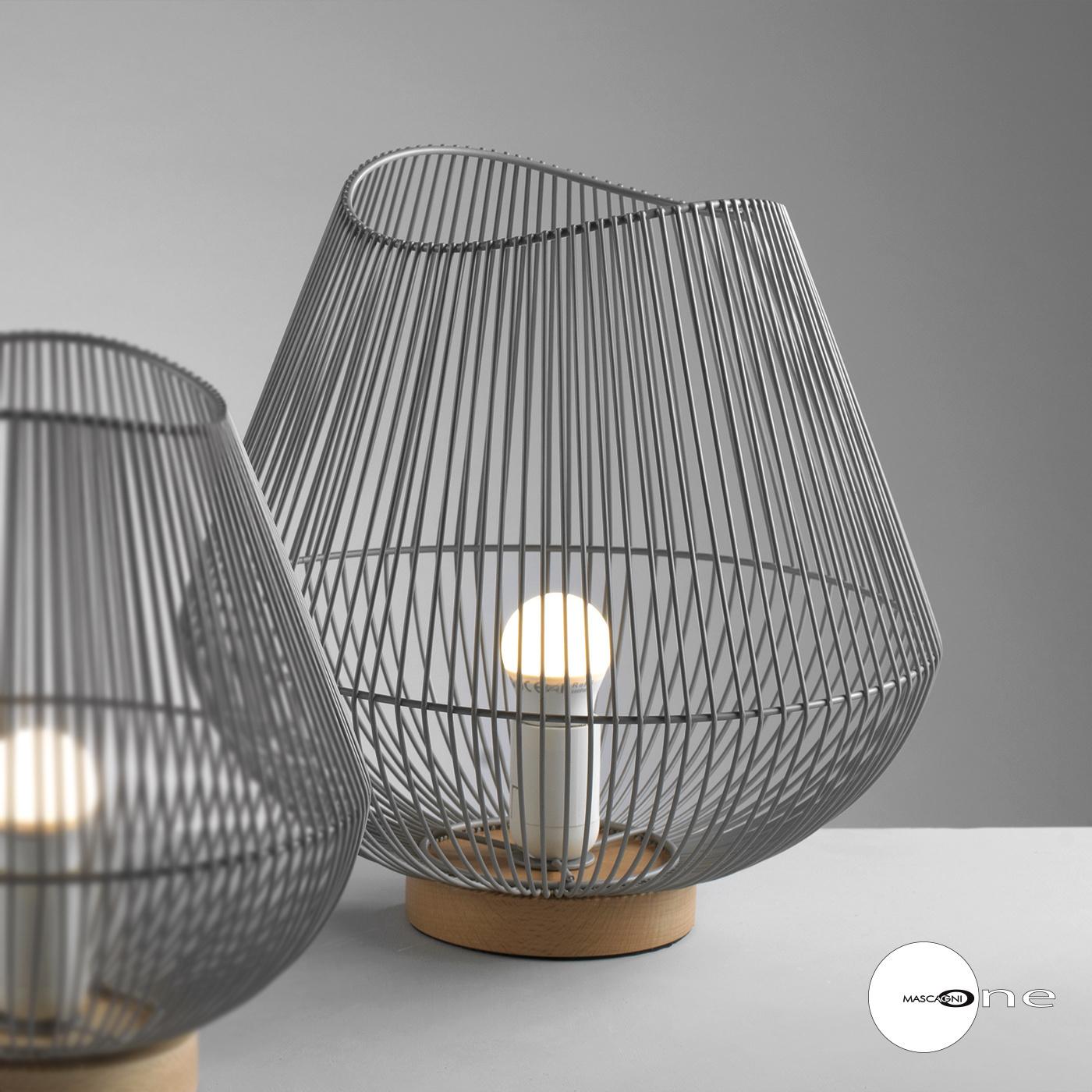 Art Mascagni O1553 LAMP DIAM.31,5 - COL.GREY