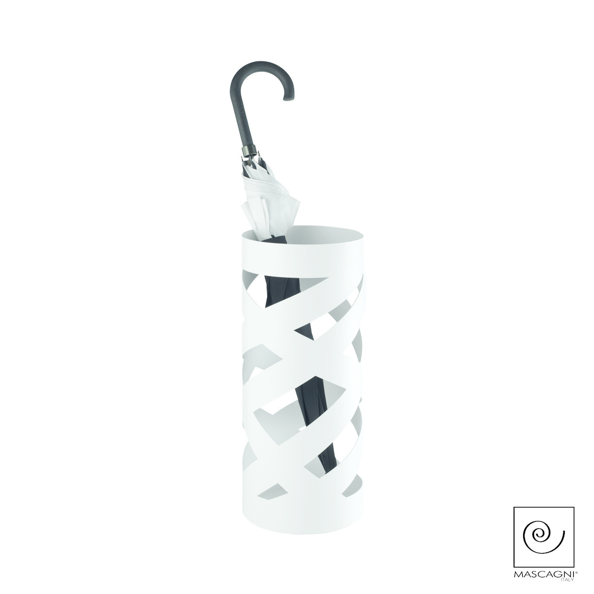 Art Mascagni SLASH2 UMBRELLA STAND - COL.WHITE