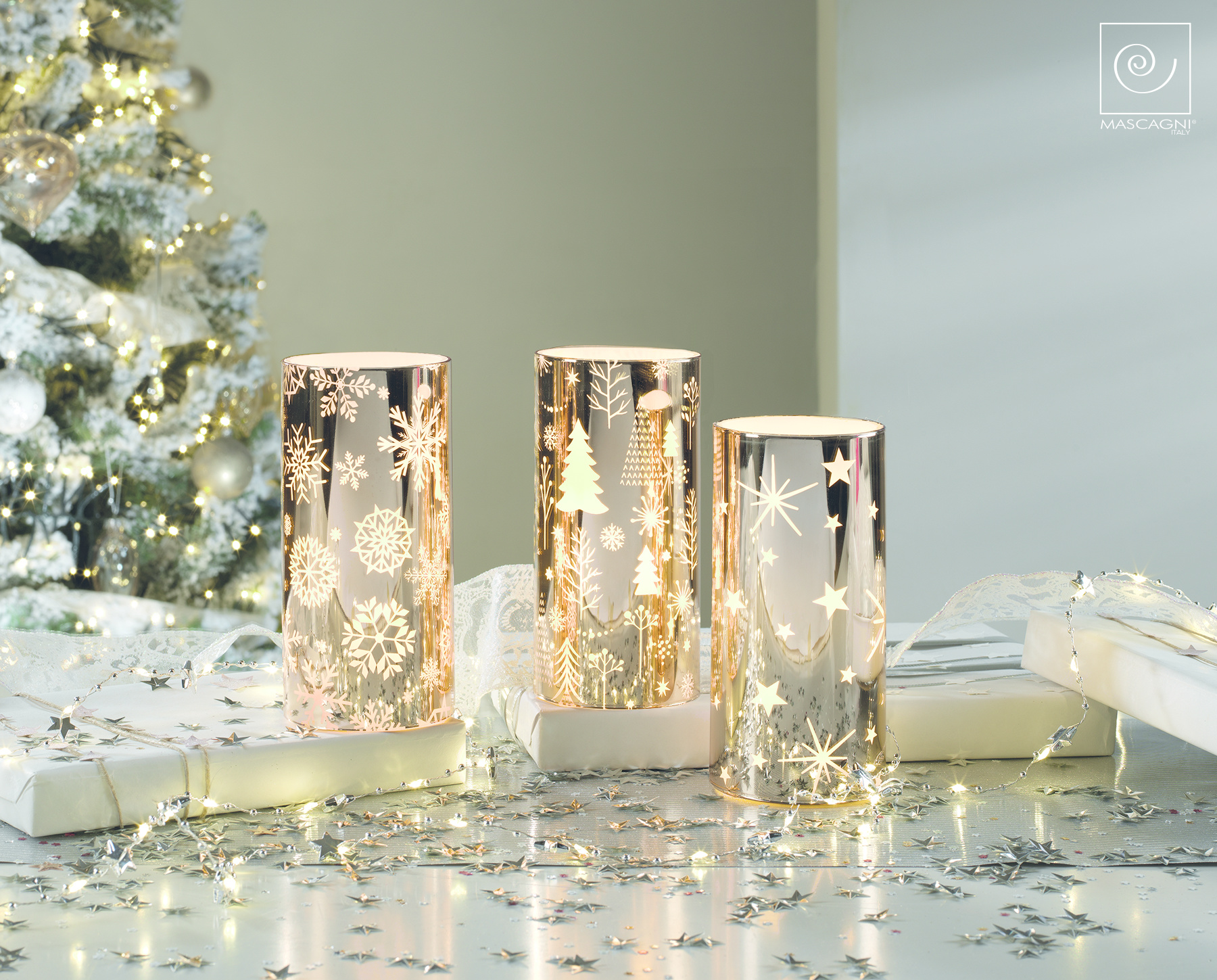 Art Mascagni SET 3 LED CANDLE