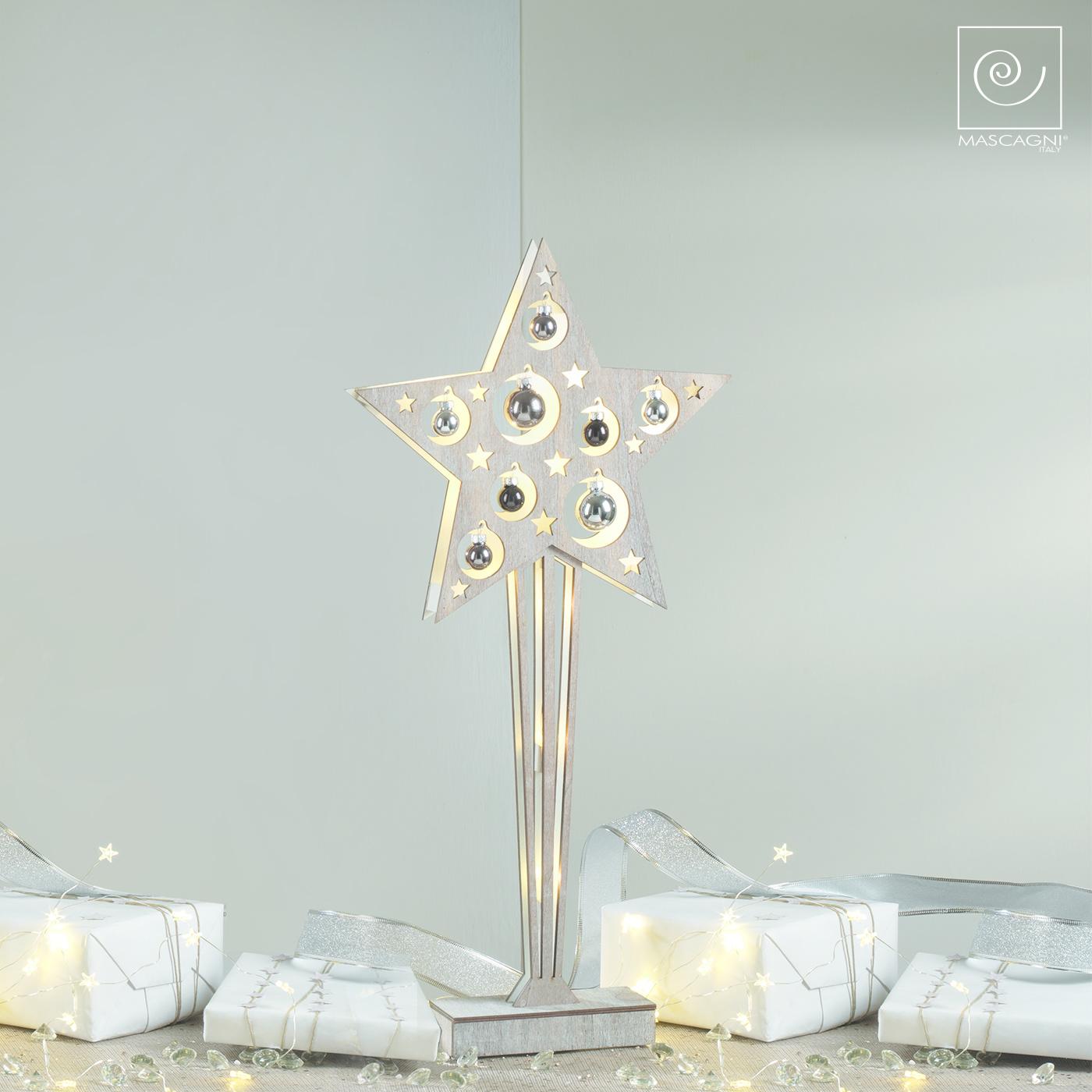 Art Mascagni LED STAR CM.57 - COL. NOCE