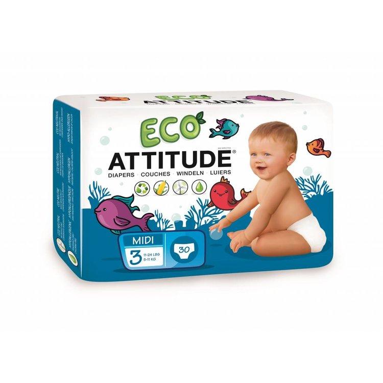 Attitude Ecologische luiers maat 3  (5-11kg)