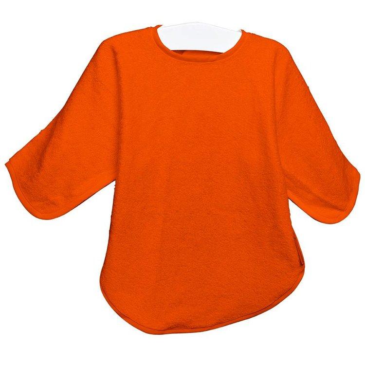 Timboo Slabbetje lange mouwen - oranje