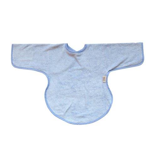 Timboo Slabbetje lange mouwen - lichtblauw
