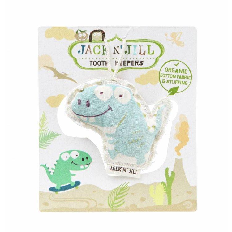 Jack N' Jill Tandenbewaarzakje - Dinosaurus