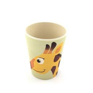 Yuunaa Eetservies bamboe - giraf