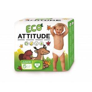 Attitude Ecologische luiers maat  5  (+ 12kg)