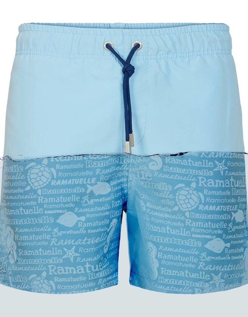 7b02a8ff4f Men's Swim shorts Magic print Khaki | Classic fit | Ramatuelle ...