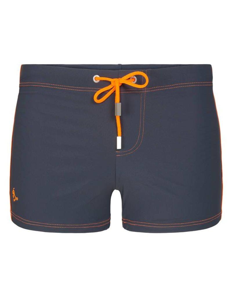 d4edbc7254fe6 Tight Square Cut Swim shorts Borneo Khaki | Stretch fabric ...