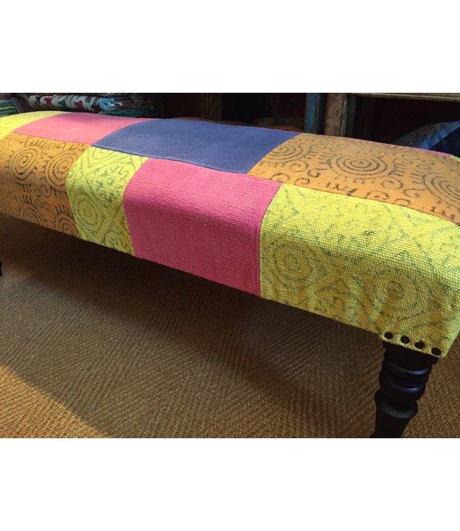 Cotton Fabric Bench