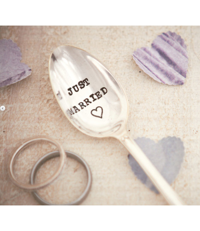 Teaspoon Just Married