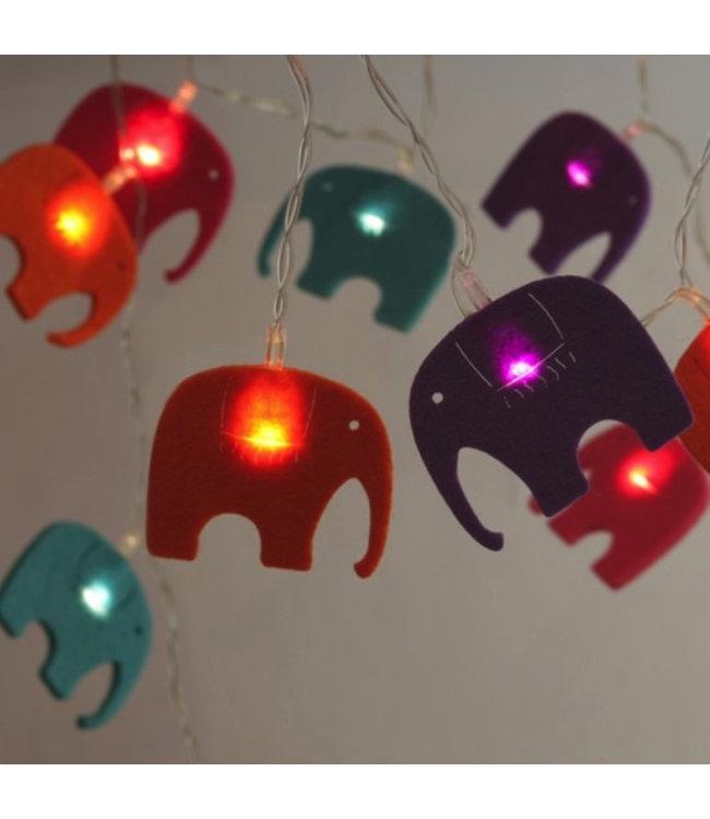 Felt Elephant Lights