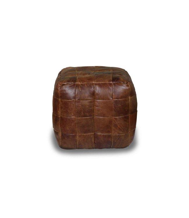 Leather Beanbag Cube