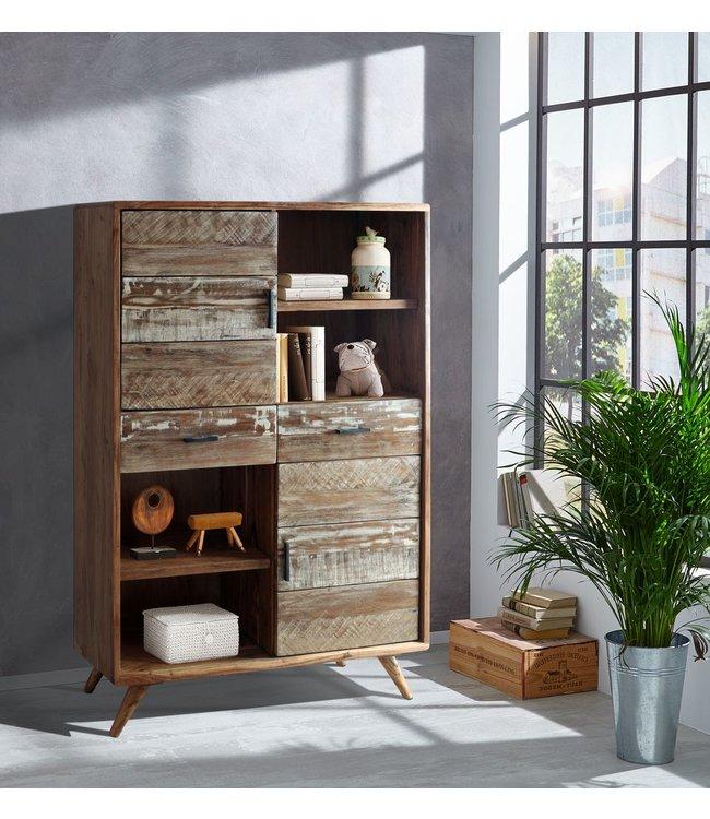 Zen Acacia Cabinet