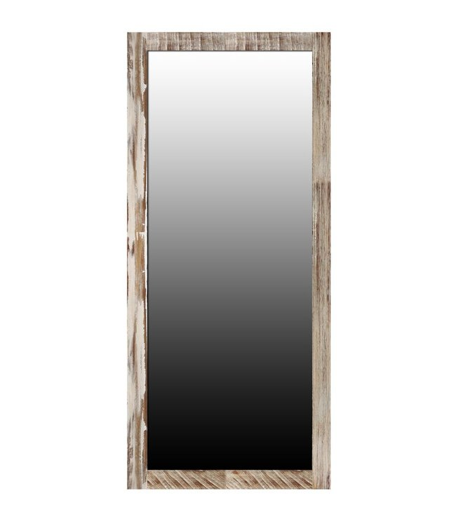Zen Acacia Standing Mirror