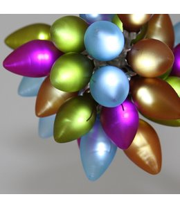 Festive Glass Light Chain