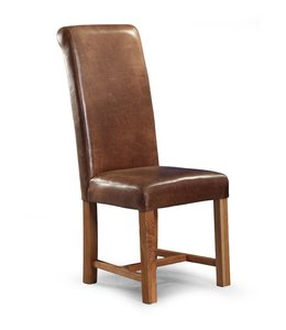 Country Roll Top Dining Chair